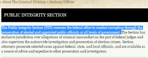 This information came from the department of Justice website https://www.justice.gov/criminal/pin
